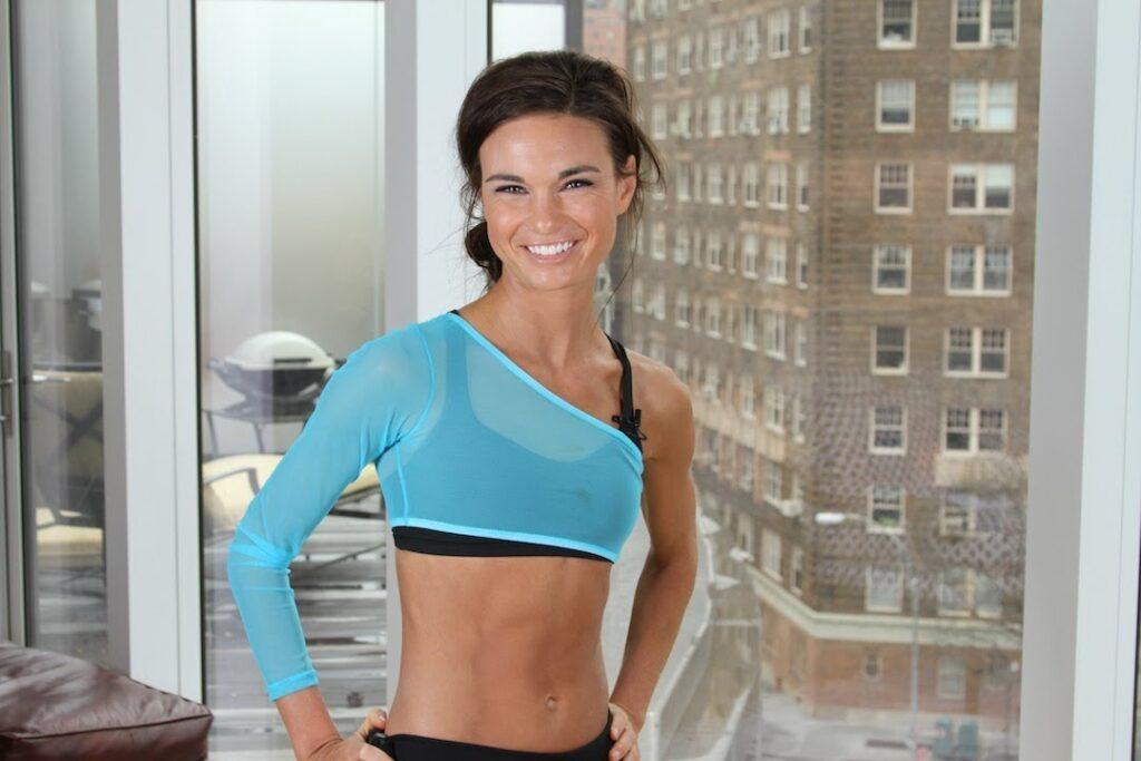 Huấn luyện viên tập thể dục Amanda Russell