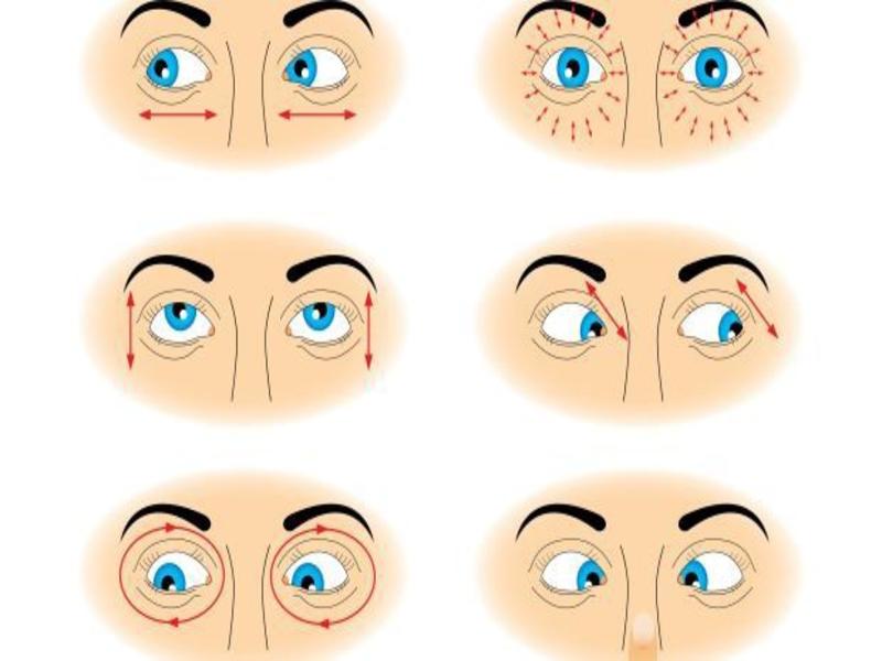 Bài tập giúp mắt to hơn bằng cách đảo mắt liên tục